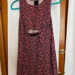 Pink and black baggy HEATHER dress
